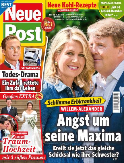 Neue Post October 17, 2018 00:00