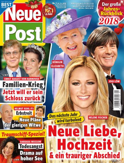 Neue Post December 24, 2018 00:00