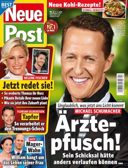 Neue Post January 02, 2019 00:00