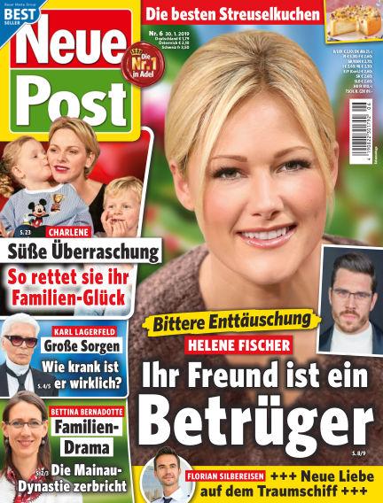 Neue Post January 30, 2019 00:00