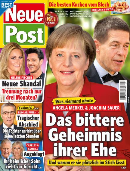 Neue Post February 13, 2019 00:00