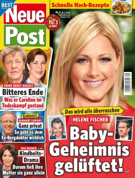 Neue Post February 20, 2019 00:00