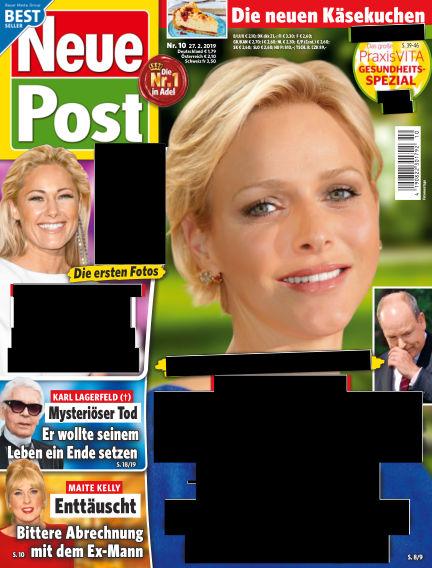 Neue Post February 27, 2019 00:00