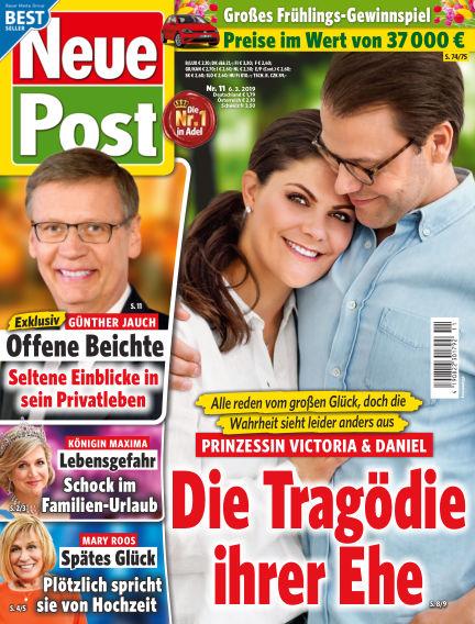 Neue Post March 06, 2019 00:00
