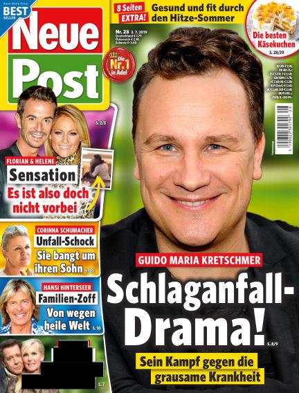 Neue Post July 03, 2019 00:00
