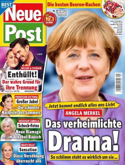 Neue Post July 10, 2019 00:00