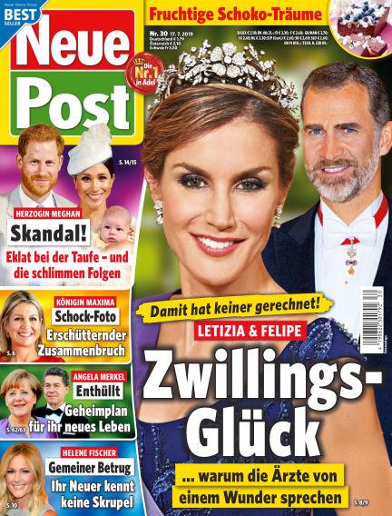 Neue Post July 17, 2019 00:00