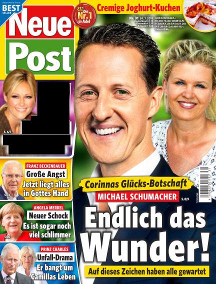Neue Post July 24, 2019 00:00