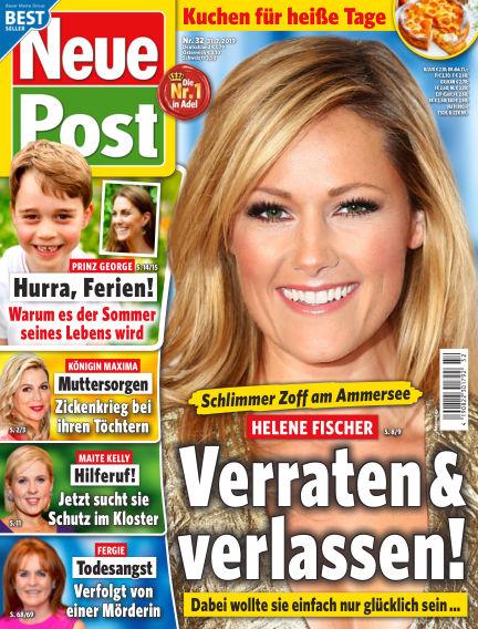 Neue Post July 31, 2019 00:00