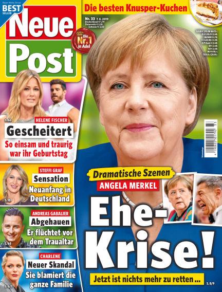 Neue Post August 07, 2019 00:00