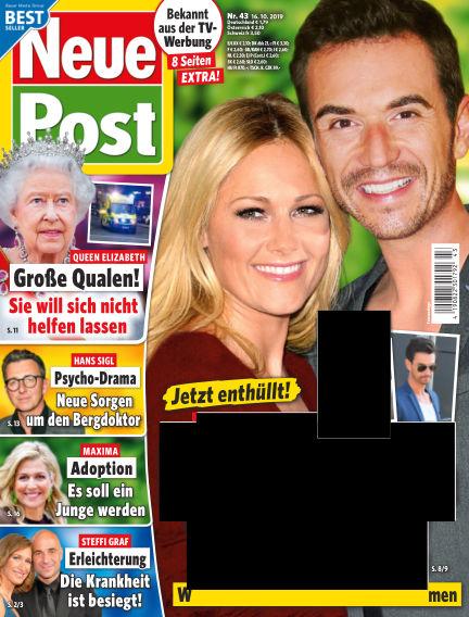 Neue Post October 16, 2019 00:00