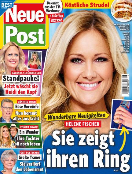 Neue Post November 20, 2019 00:00