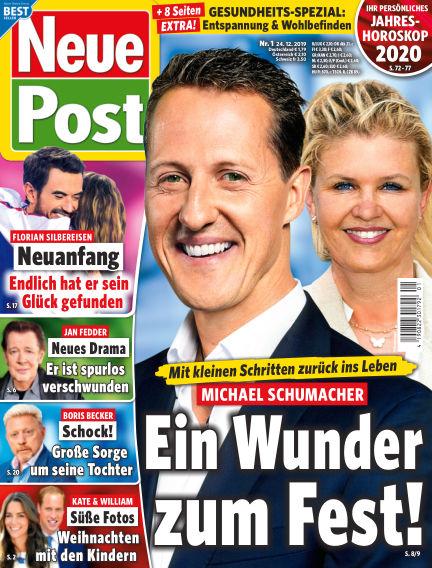 Neue Post December 24, 2019 00:00