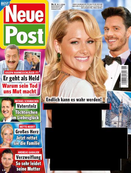 Neue Post January 29, 2020 00:00