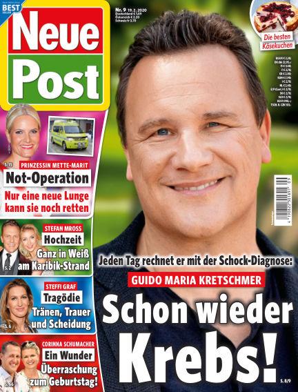 Neue Post February 19, 2020 00:00