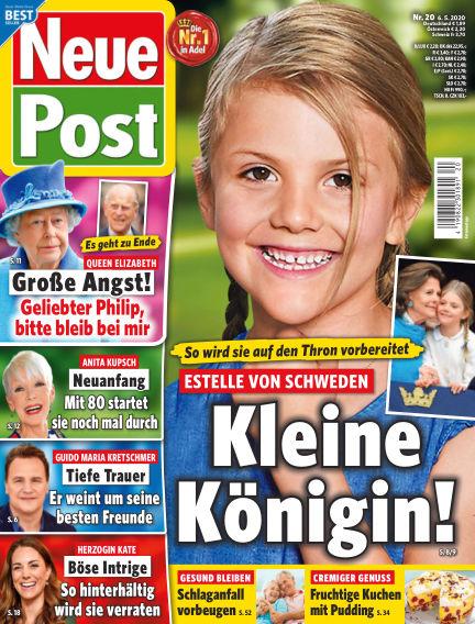 Neue Post May 06, 2020 00:00