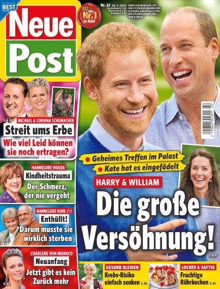 Neue Post May 20, 2020 00:00