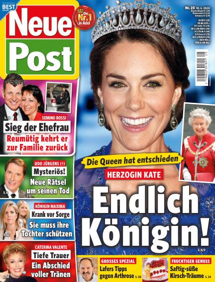 Neue Post June 10, 2020 00:00