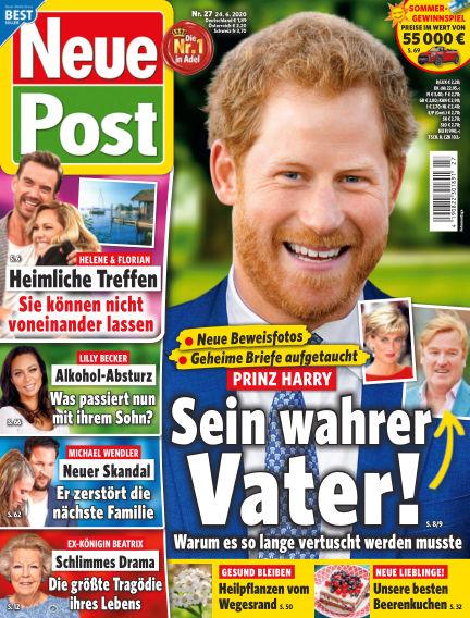 Neue Post June 24, 2020 00:00