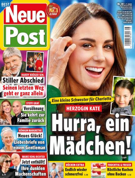 Neue Post July 01, 2020 00:00
