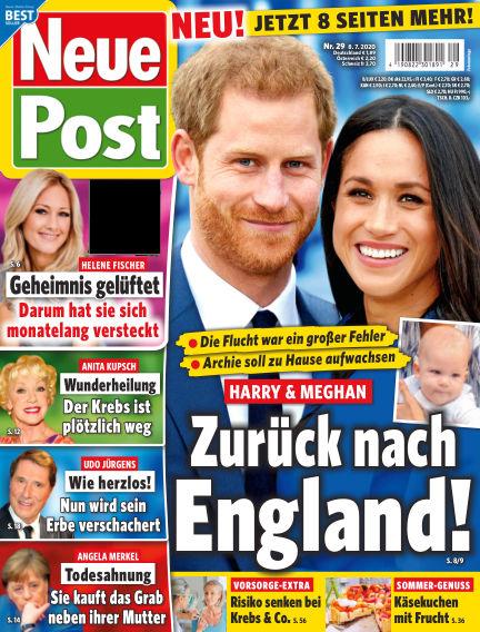 Neue Post July 08, 2020 00:00