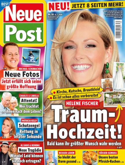 Neue Post July 15, 2020 00:00