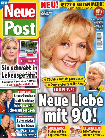 Neue Post July 29, 2020 00:00