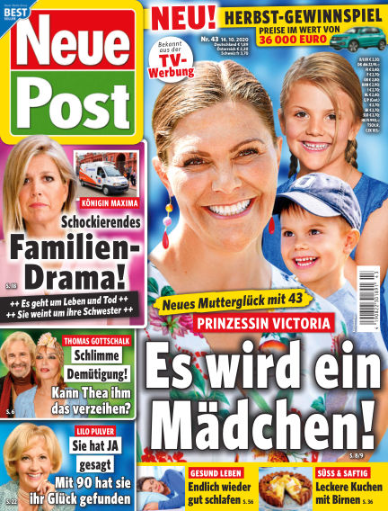 Neue Post October 14, 2020 00:00