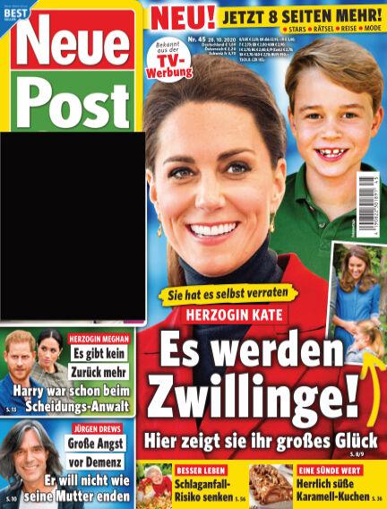 Neue Post October 28, 2020 00:00