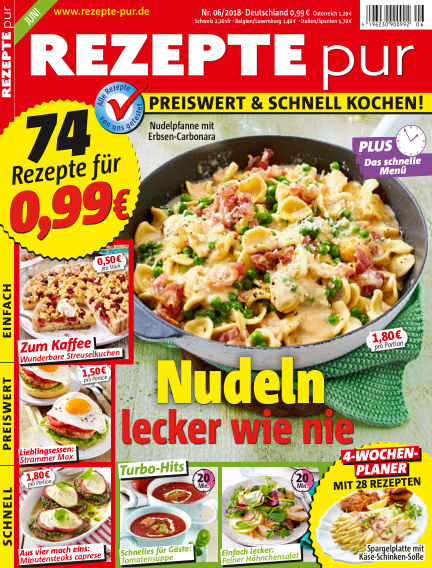 REZEPTE pur May 09, 2018 00:00