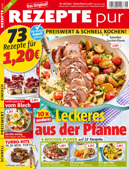 REZEPTE pur May 13, 2020 00:00