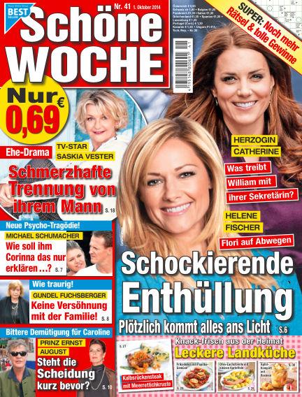 Schöne Woche October 01, 2014 00:00