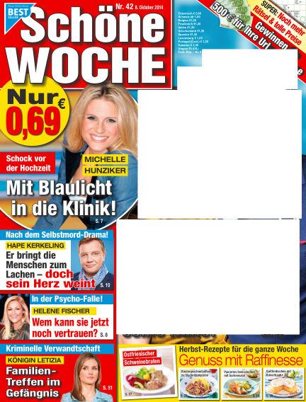 Schöne Woche October 08, 2014 00:00