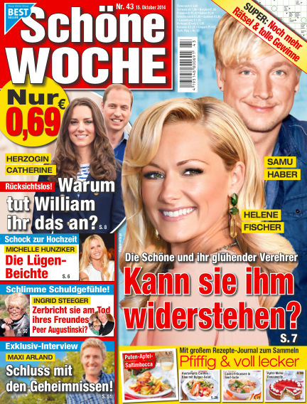 Schöne Woche October 15, 2014 00:00