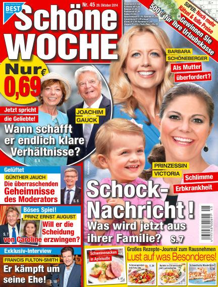 Schöne Woche October 29, 2014 00:00