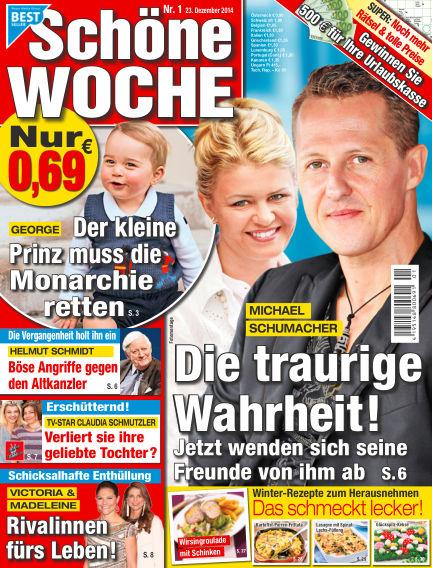 Schöne Woche December 23, 2014 00:00