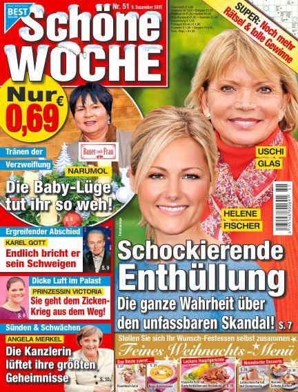 Schöne Woche December 09, 2015 00:00