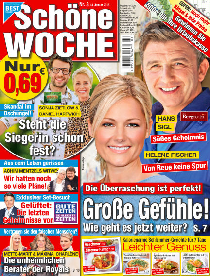 Schöne Woche January 13, 2016 00:00