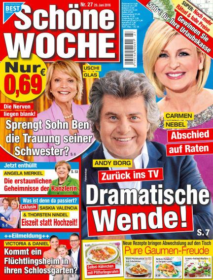Schöne Woche June 29, 2016 00:00