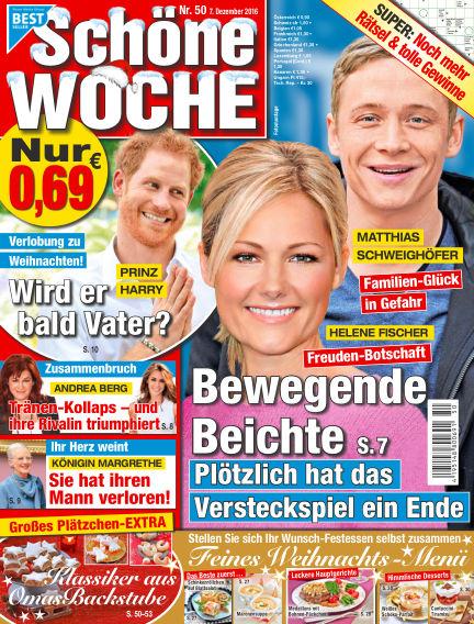 Schöne Woche December 07, 2016 00:00