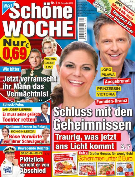 Schöne Woche December 28, 2016 00:00
