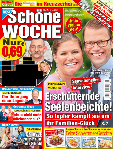 Schöne Woche July 12, 2017 00:00