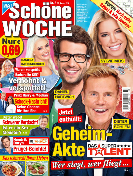 Schöne Woche January 10, 2018 00:00