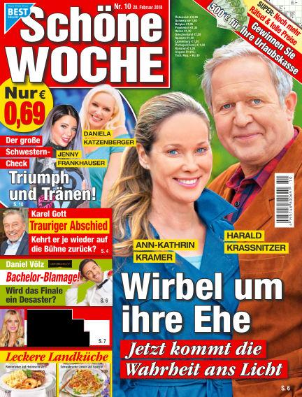 Schöne Woche February 28, 2018 00:00