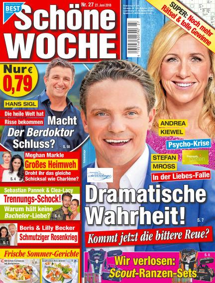 Schöne Woche June 27, 2018 00:00