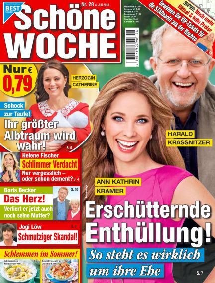 Schöne Woche July 04, 2018 00:00