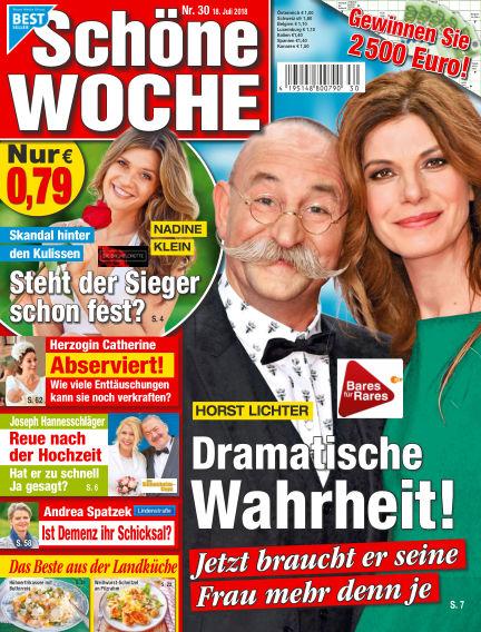 Schöne Woche July 18, 2018 00:00