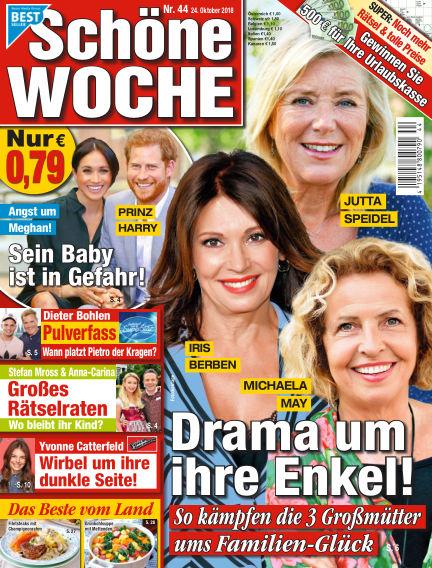 Schöne Woche October 24, 2018 00:00