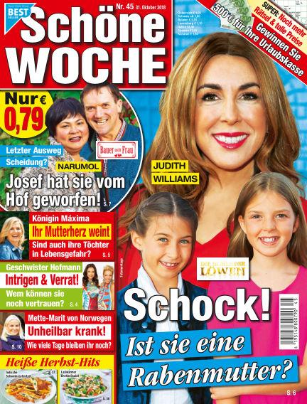 Schöne Woche October 31, 2018 00:00