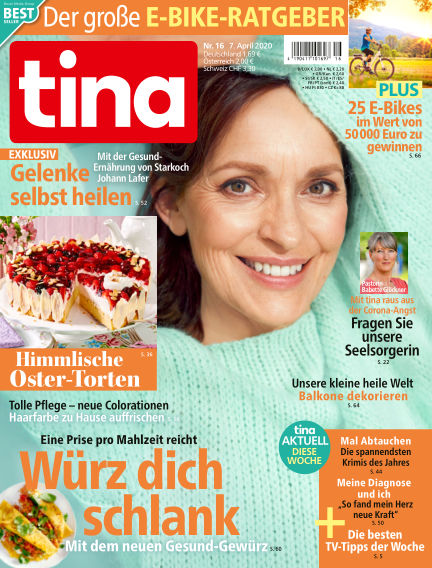 Tina April 07, 2020 00:00